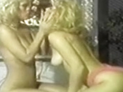 Amber Lynn And Nina Hartley W - Pink TV 2 Lesbian Scene