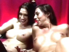 Amsterdam whore in stockings gets a cumshot