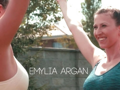 Yoga Love Episode 1 - My Guru - Emylia Argan & Jennifer Jane - VivThomas