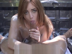 LUBED - Blake Eden gives a truck and its owner a soapy wash