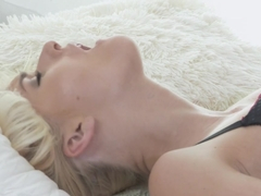 Crazy pornstars Vinna Reed, Ashley Love, Cristin Caitlin in Amazing Cunnilingus, Romantic sex clip