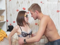 Amazing brunette teen zoey foxx aches for a fuck
