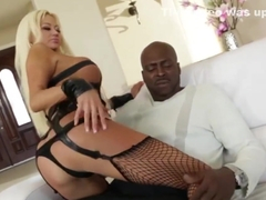 Lexington Steele loves banging Nikita Von James tight pussy so hard