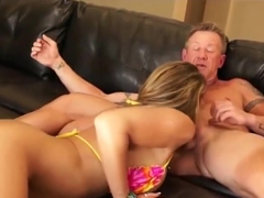 Kristal ending up with cum in her MILF pussy