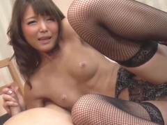 Aoi Shino Sweat Sex With Brown Beauty