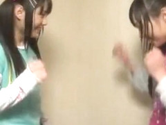 Horny Japanese whore Mina Yoshii, Mamiru Momone in Amazing Hidden Cams, Handjobs JAV clip