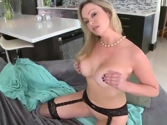 Beauteous platinum MILF Abbey Brooks got jammed in the ass
