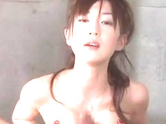 Best Japanese chick Mako Katase in Exotic Showers, Handjobs JAV scene