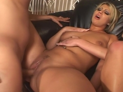 Two Sexy Women Pleasure Lucky Man