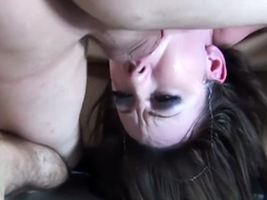 Jennifers throatfuck session