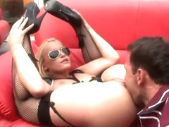 Blonde Cop Gets Sodomized And Facialized