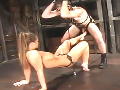 Incredible Rita Faltoyano is fucking in BDSM porn