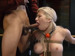 Hardcore Punishment And Skinny Teen Brutal Dildo Now She's B