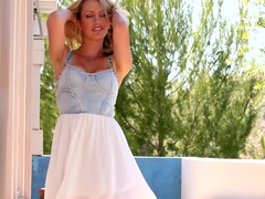 Crazy pornstar Brett Rossi in Horny Outdoor, Blonde adult movie