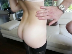 Horny pornstar Maddy Rose in Exotic Stockings, Blonde adult movie
