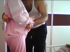 hot wife masturbates husband s cock