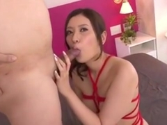 Yui Kasuga Plays With Her Warm Pussy And A Big Dick