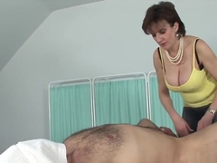 Unfaithful english milf lady sonia pops out her massive knockers
