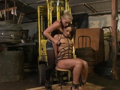 Nasty Andy Brown adores when her friend punishes her