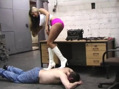 Natalia boots worship and trampling