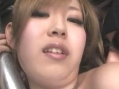 Hottest Japanese whore Kairi Uehara in Horny Threesomes JAV clip