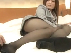 Best Japanese chick Anna Mitsui in Exotic DP/Futa-ana, Facial JAV movie