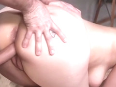 Master fucks huge ass brunette slave
