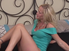 Exotic pornstar Simone Sonay in incredible blowjob, blonde xxx video