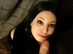 Dead_Girl Teen Goth Girl Blowjob With Cumshot In Mouth