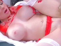 (Skyla Novea) Superb Patient Seduced By Doctor In Hardcore Sex clip-24