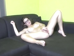 Fine-looking small titted Tiffany Doll play her self