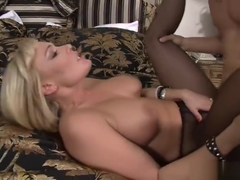 Dick sucking sex video featuring Jordan Blue and Mellanie Monroe