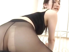 asian ballet pantyhouse girl seduce by her instructor