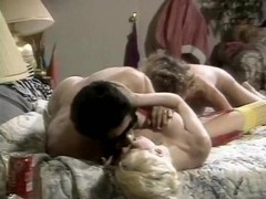 Barbara Dare, Jerry Butler, Jon Martin in classic xxx movie