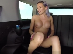 Kacey Jordan rides the nut out