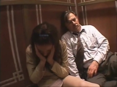 Amanda Tapping Sex in Elevator
