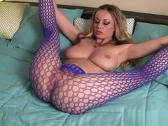 Sexy Blue Pantyhose - by Anita Dark