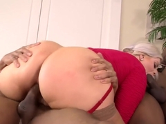Klaudia Kelly has two big dicks in her