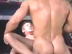 Fabulous male in crazy hunks, big dick homo porn scene