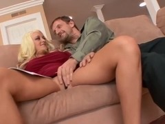 Briana Blair plowed in her tight pussy