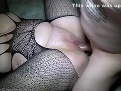 Cringey Body Stockings Threesome With Ass Licking Action