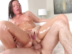 Maddy O Reilly Gets Her Oiled Up Asshole Fucked In Hd