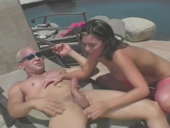 Brett Rockman Seducing Ashley Blue Banging In Her Ass