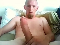 Sexy BF is playing at home and shooting himself on camera