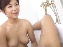 Incredible Japanese chick Maki Hoshino in Exotic Blowjob, Facial JAV video