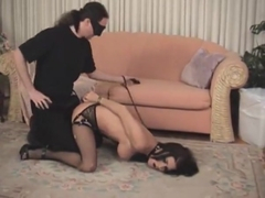 Brunette girl ABused