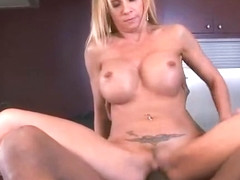 Mature Hot Lady (brooke tyler) Ride Hard On Cam A Black Mamba Cock clip-10