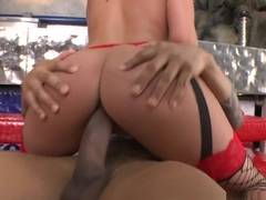 Exotic pornstar Donna Bell in Best Stockings, Pornstars sex movie