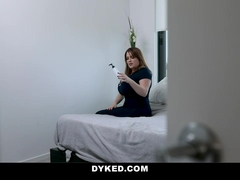 Dyked - Sexy Dyke Teen Hooks Up With Big Ass Stepmom