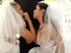 Lusty Brides Francesca Le And Julia Ann Gets Asses Destroyed